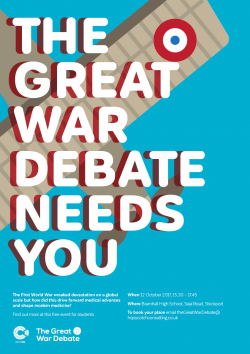 The Great War Debate Posters